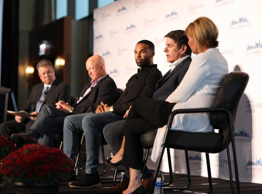 chicago sports summit panel