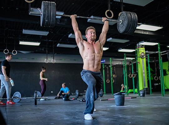 crossfit athlete